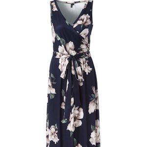 Beautiful V Neck Maxi Dress